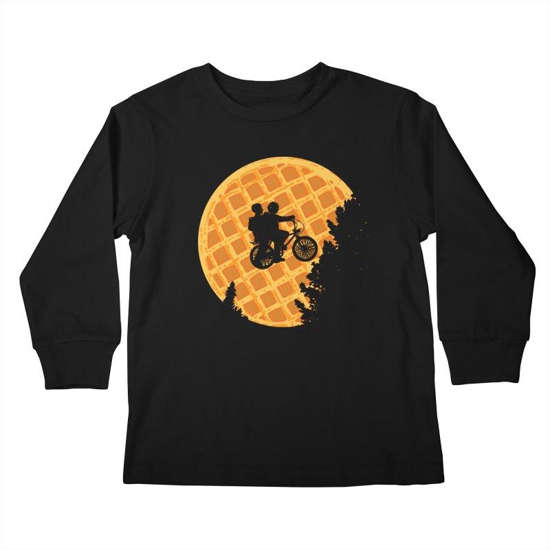 S.T. Stranger Things Kids Longsleeve T-Shirt by Rodrigobhz