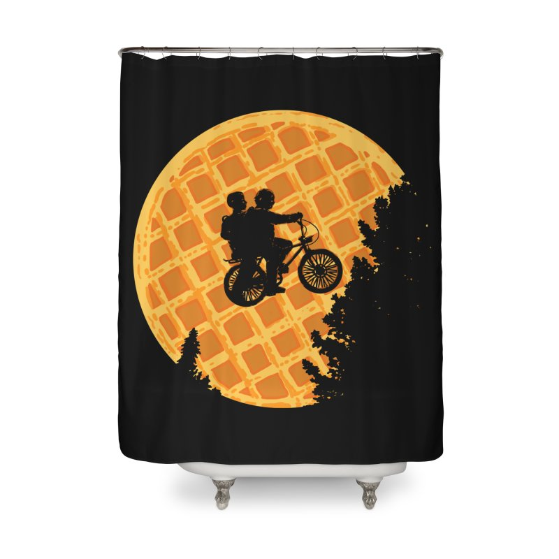 S.T. Stranger Things Home Shower Curtain by Rodrigobhz