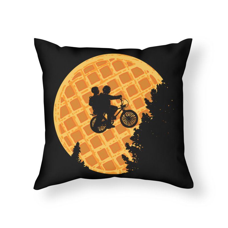 S.T. Stranger Things Home Throw Pillow by Rodrigobhz