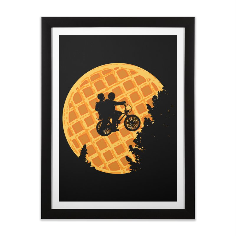 S.T. Stranger Things Home Framed Fine Art Print by Rodrigobhz