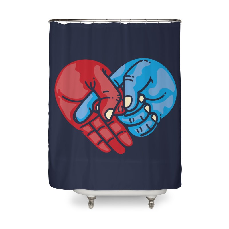 Lovefuck Home Shower Curtain by Rodrigobhz
