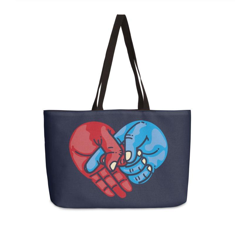 Lovefuck Accessories Weekender Bag Bag by Rodrigobhz