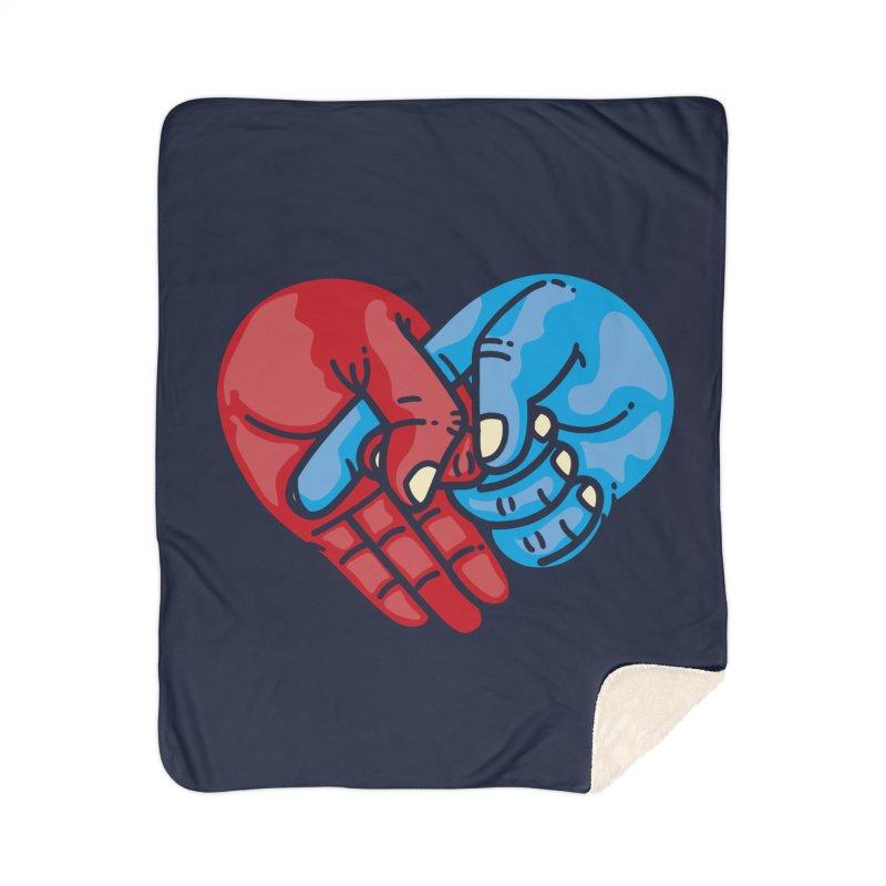 Lovefuck Home Sherpa Blanket Blanket by Rodrigobhz
