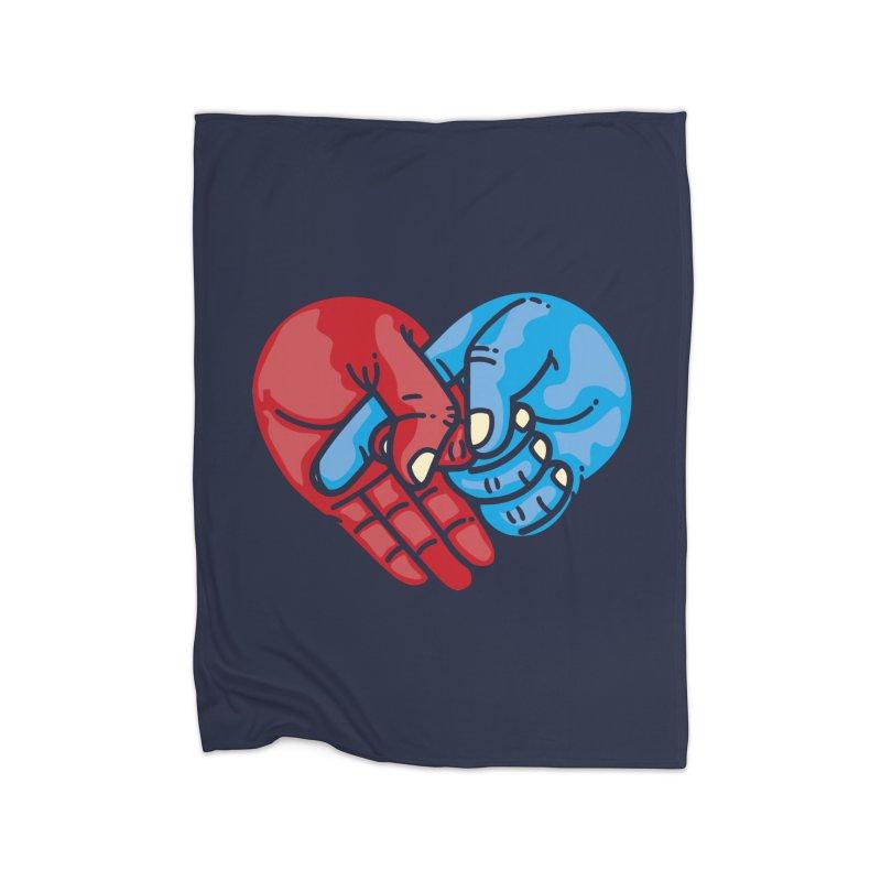 Lovefuck Home Blanket by Rodrigobhz