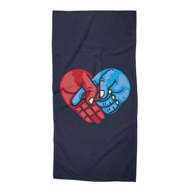 Lovefuck Accessories Beach Towel by Rodrigobhz