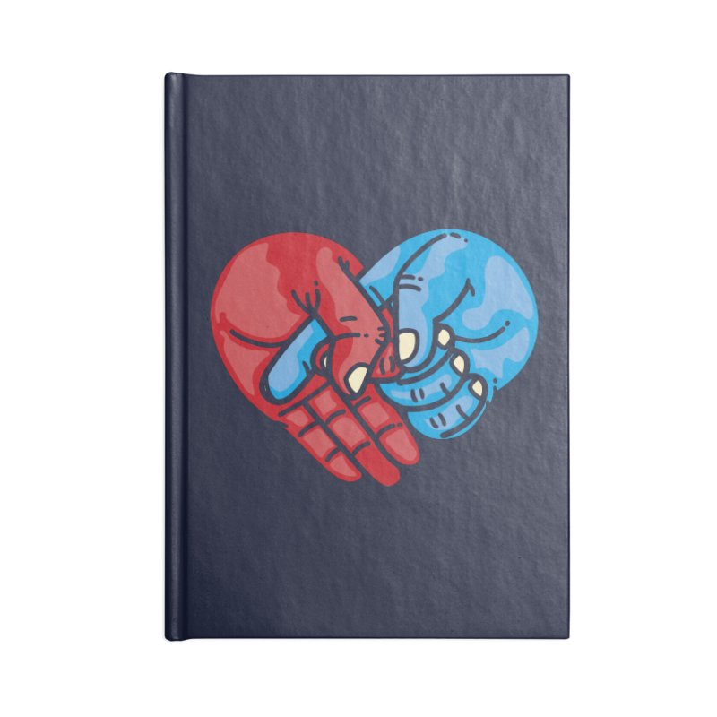 Lovefuck Accessories Lined Journal Notebook by Rodrigobhz