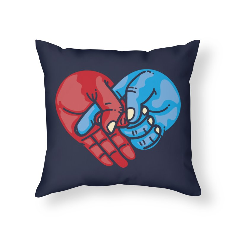 Lovefuck Home Throw Pillow by Rodrigobhz