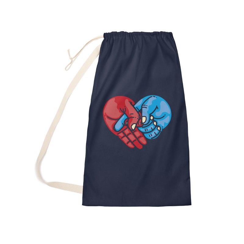 Lovefuck Accessories Laundry Bag Bag by Rodrigobhz