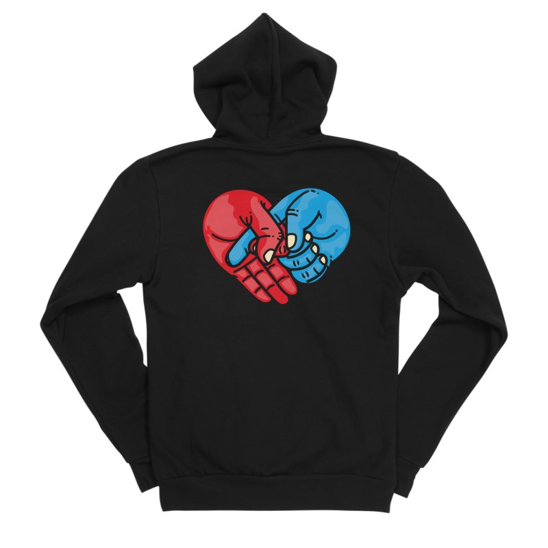 Lovefuck Men's Zip-Up Hoody by Rodrigobhz