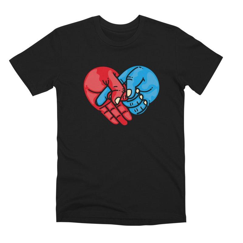 Lovefuck Men's Premium T-Shirt by Rodrigobhz