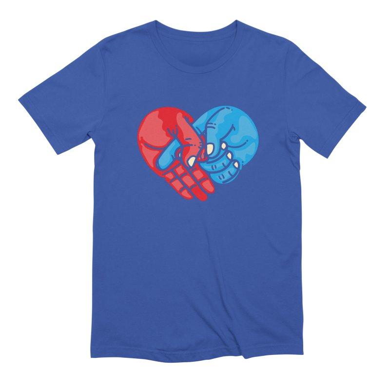 Lovefuck Men's Extra Soft T-Shirt by Rodrigobhz