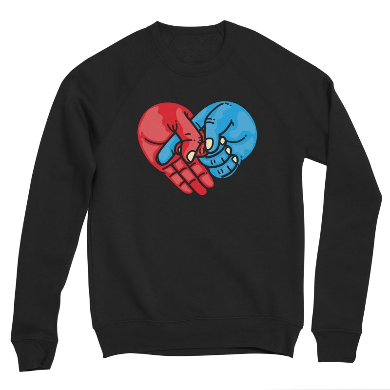 Lovefuck Women's Sponge Fleece Sweatshirt by Rodrigobhz