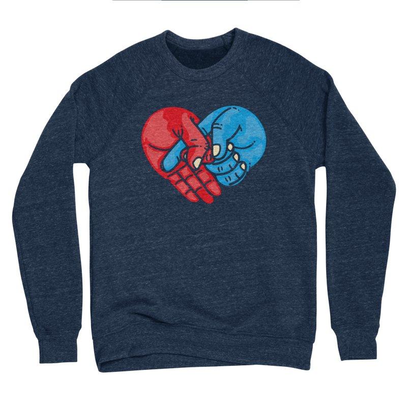 Lovefuck Men's Sponge Fleece Sweatshirt by Rodrigobhz