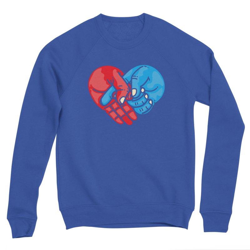 Lovefuck Women's Sponge Fleece Sweatshirt by Rodrigobhz