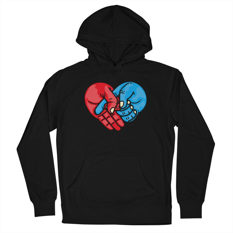 Lovefuck Women's French Terry Pullover Hoody by Rodrigobhz