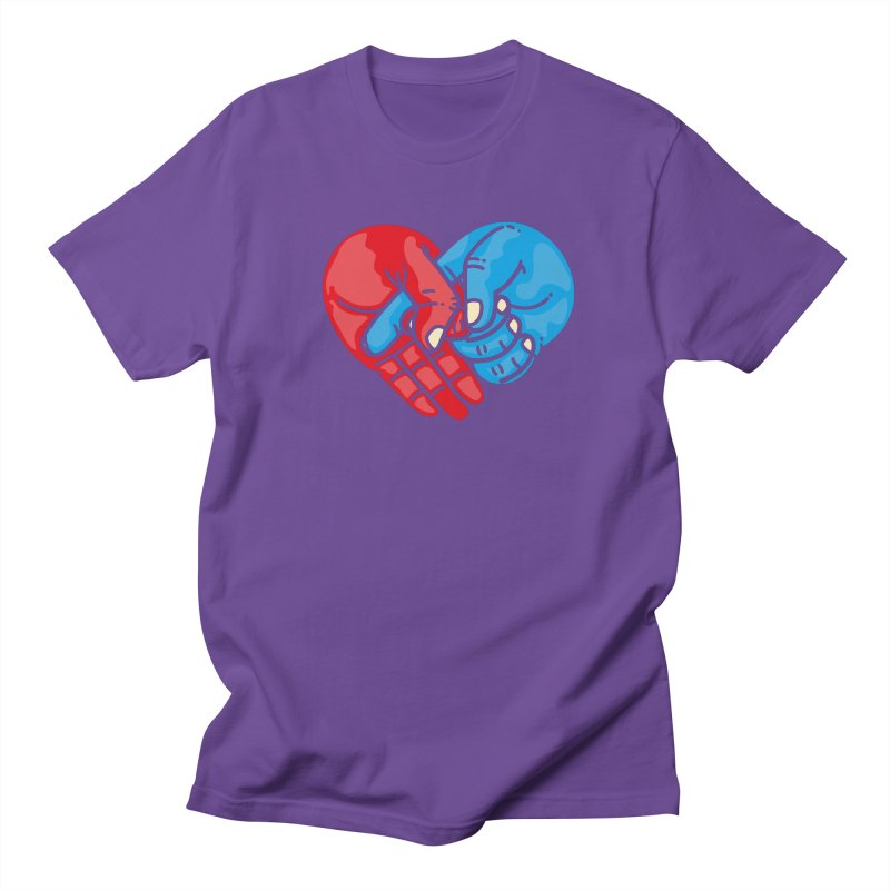 Lovefuck Men's Regular T-Shirt by Rodrigobhz