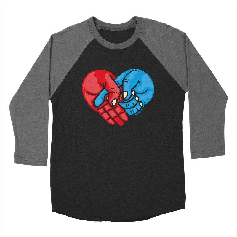 Lovefuck Women's Baseball Triblend Longsleeve T-Shirt by Rodrigobhz