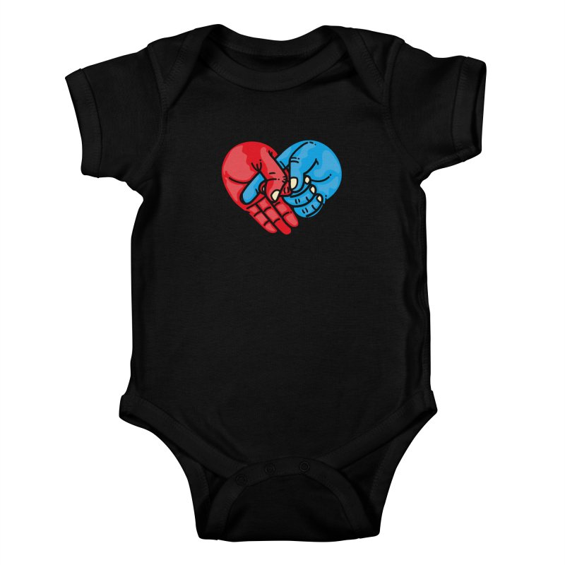 Lovefuck Kids Baby Bodysuit by Rodrigobhz