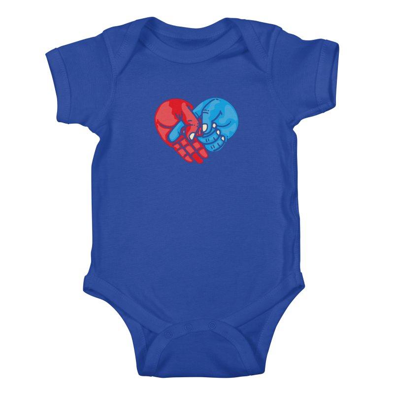 Lovefuck Kids Baby Bodysuit by Rodrigobhz