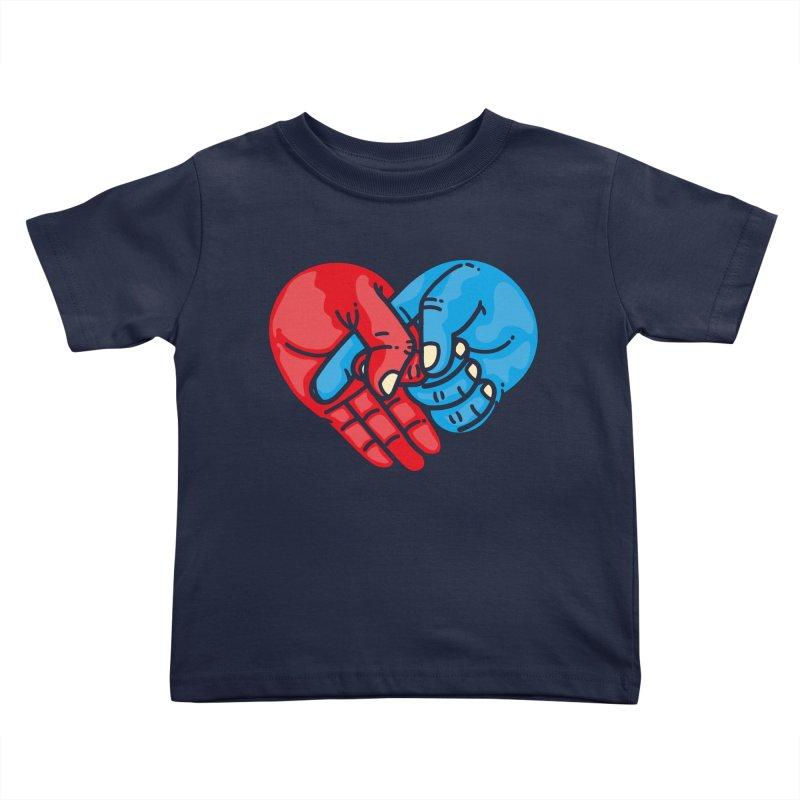 Lovefuck Kids Toddler T-Shirt by Rodrigobhz