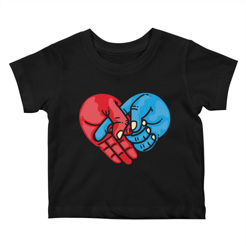 Lovefuck Kids Baby T-Shirt by Rodrigobhz