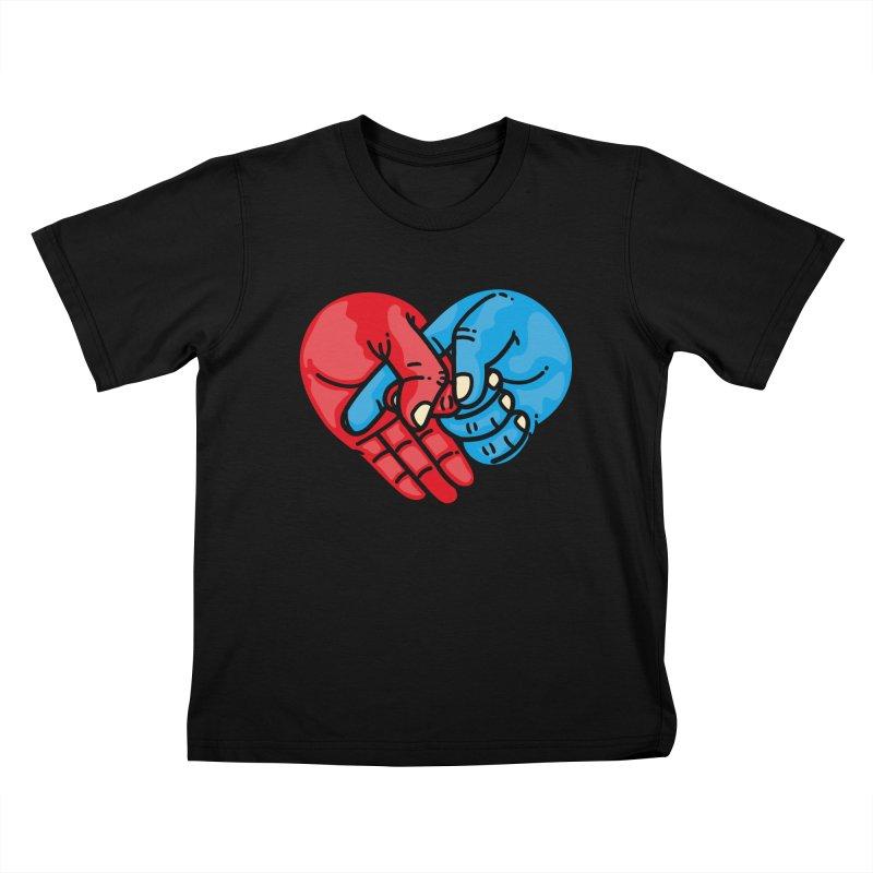Lovefuck Kids T-Shirt by Rodrigobhz