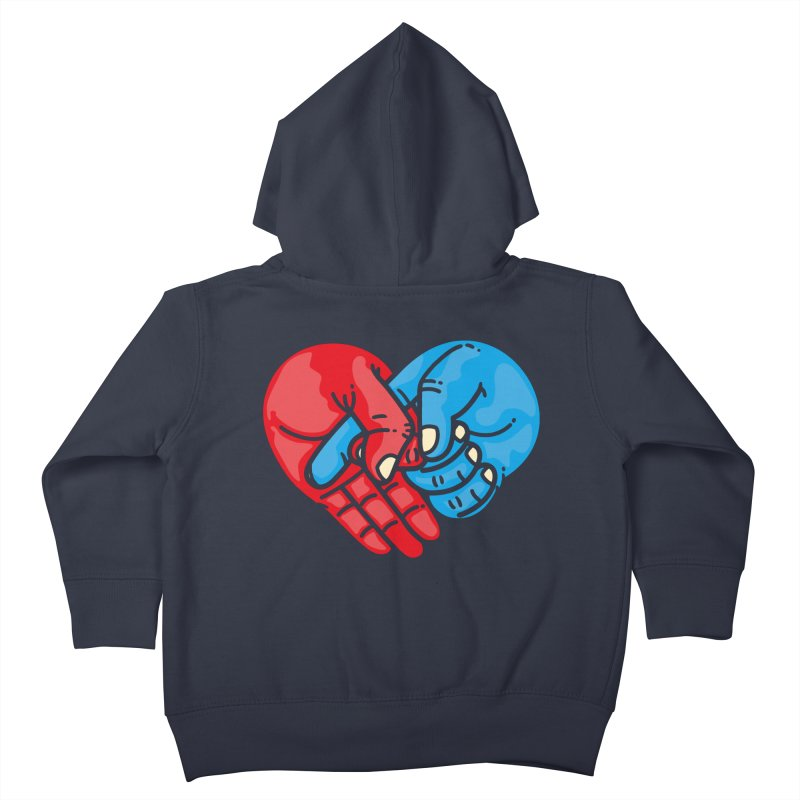 Lovefuck Kids Toddler Zip-Up Hoody by Rodrigobhz