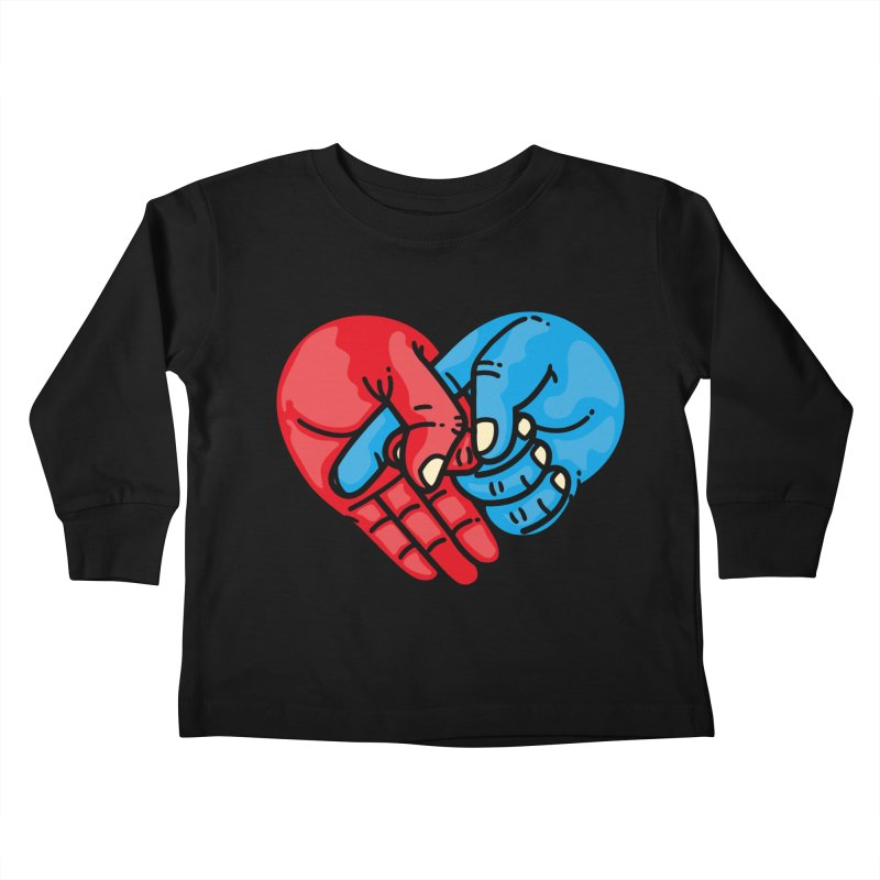 Lovefuck Kids Toddler Longsleeve T-Shirt by Rodrigobhz