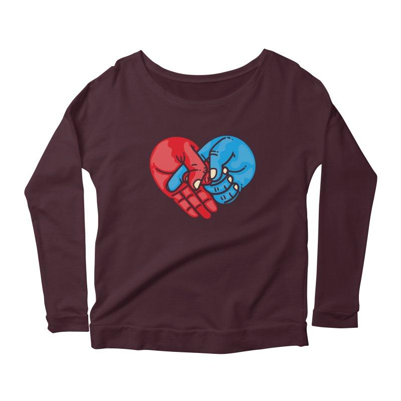Lovefuck Women's Scoop Neck Longsleeve T-Shirt by Rodrigobhz