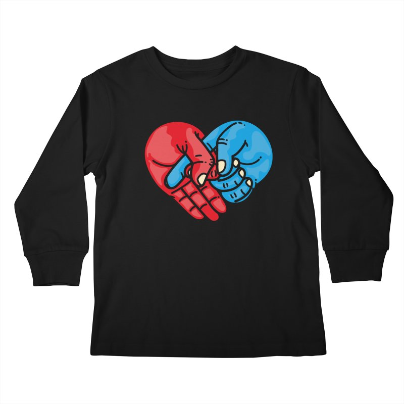Lovefuck Kids Longsleeve T-Shirt by Rodrigobhz