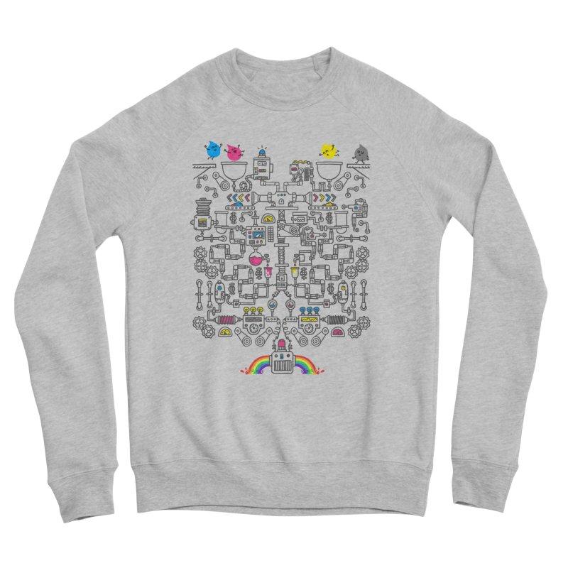 The Amazing Color Machine Men's Sweatshirt by Rodrigobhz