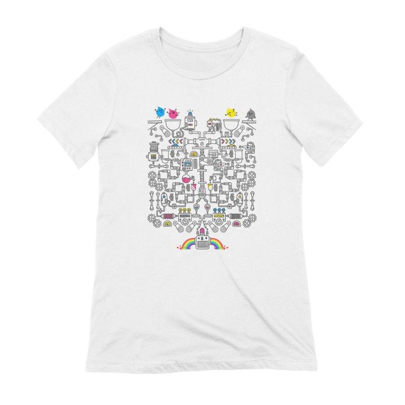 The Amazing Color Machine Women's Extra Soft T-Shirt by Rodrigobhz