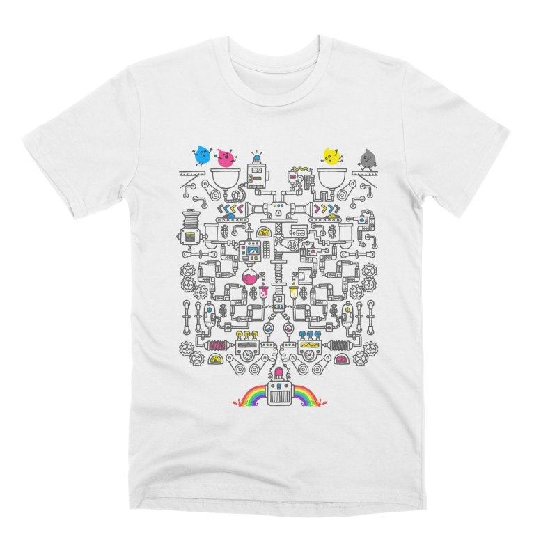 The Amazing Color Machine Men's Premium T-Shirt by Rodrigobhz