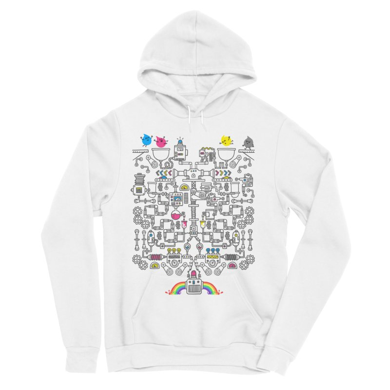 The Amazing Color Machine Men's Sponge Fleece Pullover Hoody by Rodrigobhz