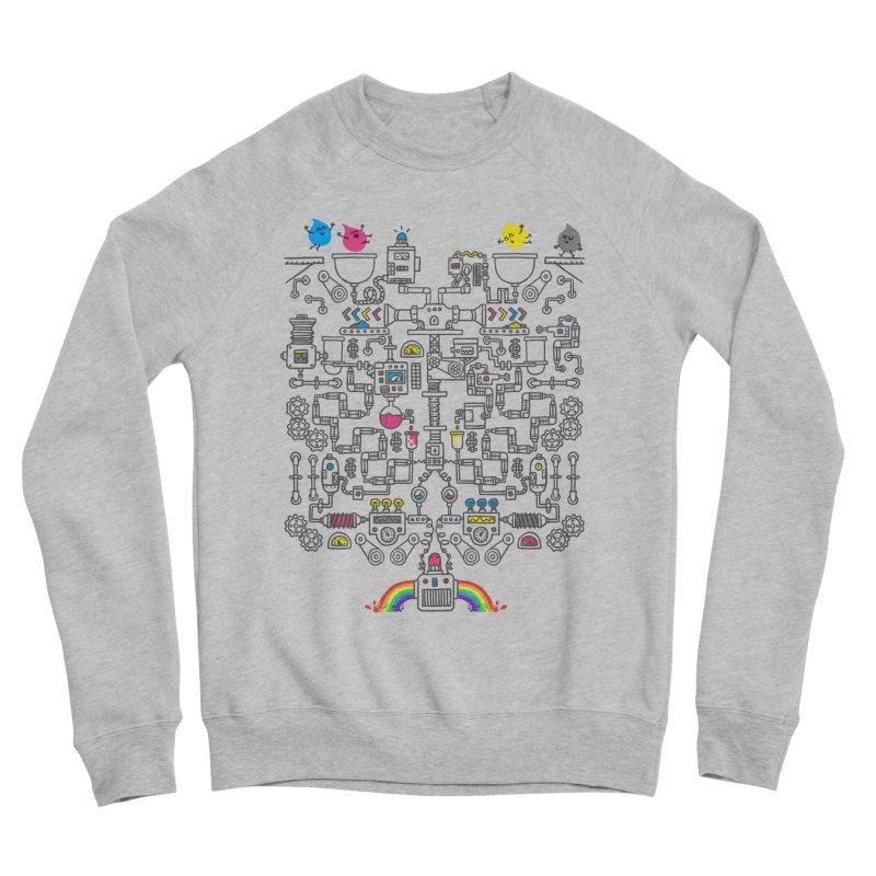 The Amazing Color Machine Men's Sponge Fleece Sweatshirt by Rodrigobhz