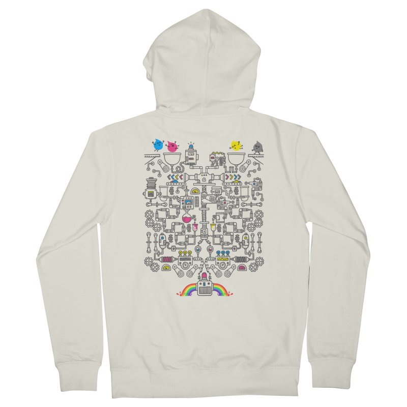The Amazing Color Machine Women's Zip-Up Hoody by Rodrigobhz