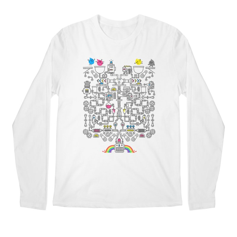 The Amazing Color Machine Men's Longsleeve T-Shirt by Rodrigobhz