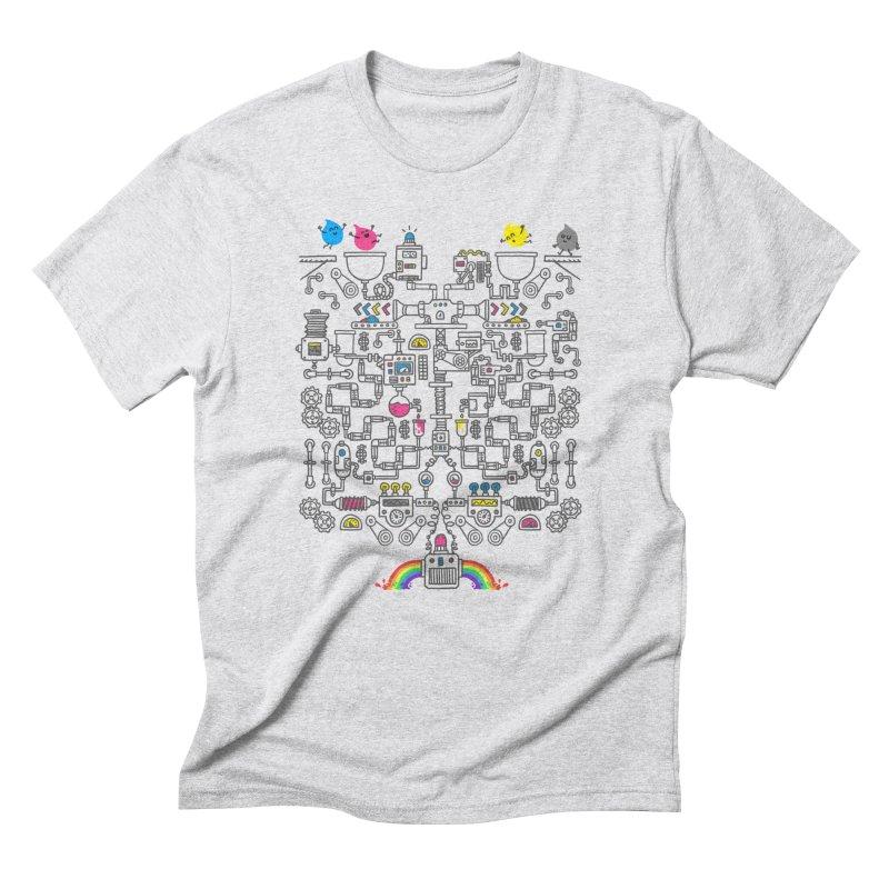 The Amazing Color Machine Men's T-Shirt by Rodrigobhz