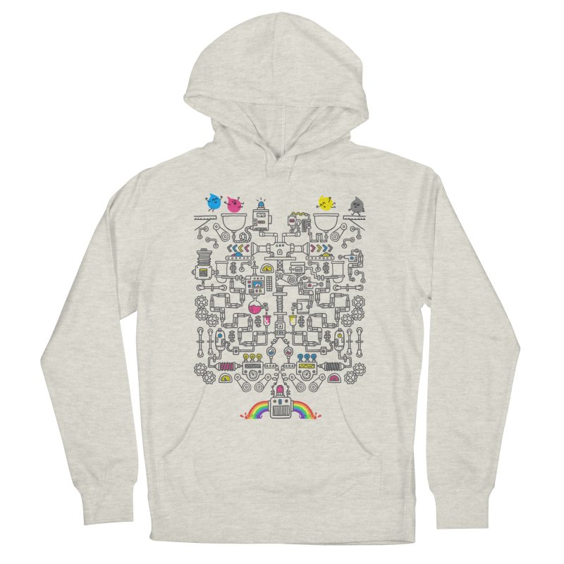 The Amazing Color Machine Women's French Terry Pullover Hoody by Rodrigobhz