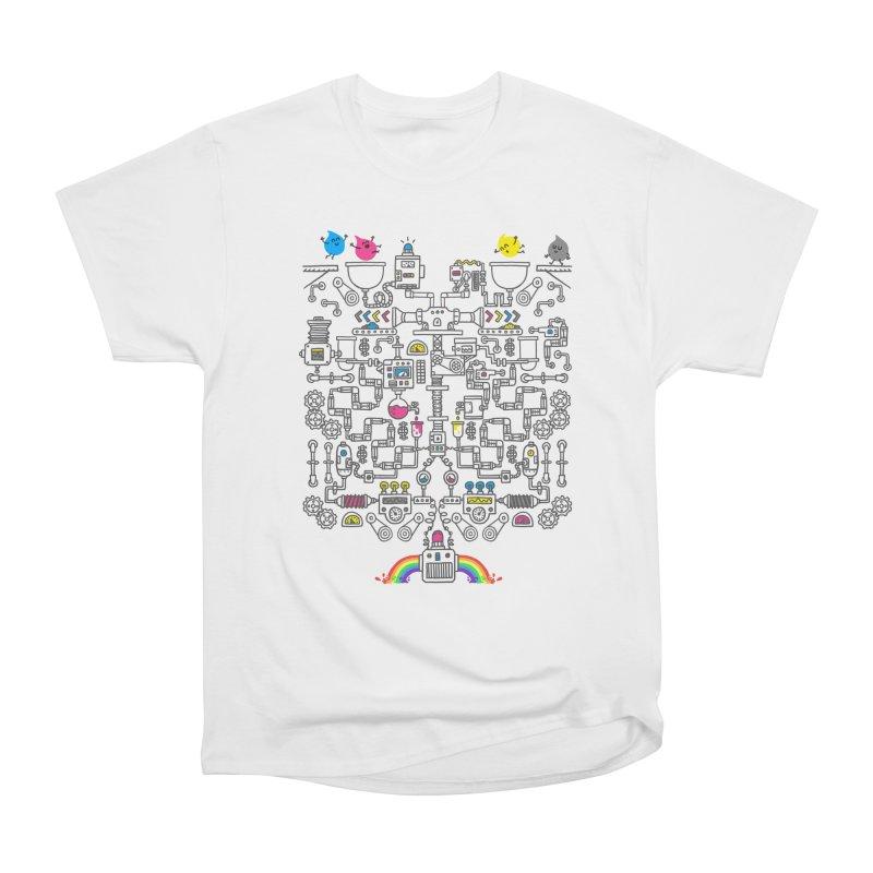 The Amazing Color Machine Women's Heavyweight Unisex T-Shirt by Rodrigobhz