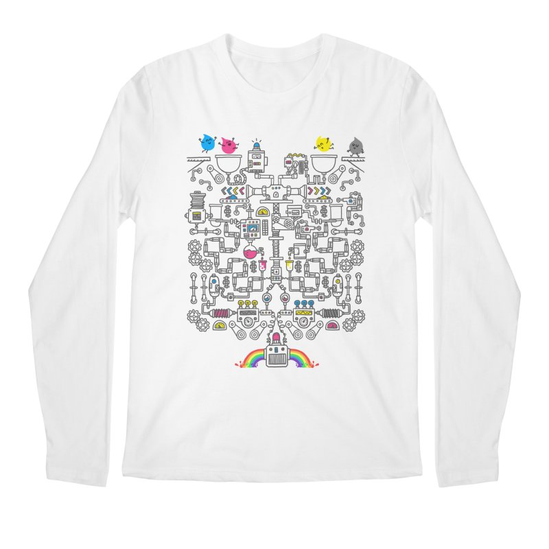 The Amazing Color Machine Men's Regular Longsleeve T-Shirt by Rodrigobhz