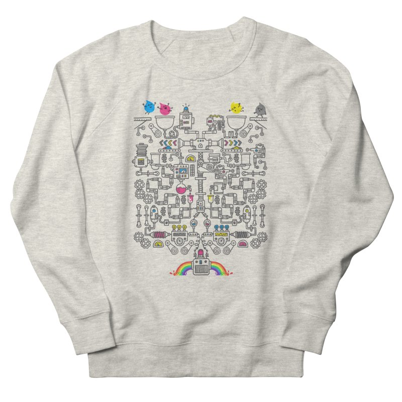 The Amazing Color Machine Men's French Terry Sweatshirt by Rodrigobhz