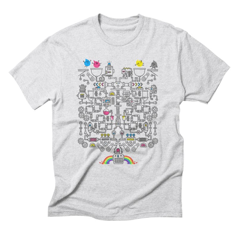 The Amazing Color Machine Men's Triblend T-Shirt by Rodrigobhz