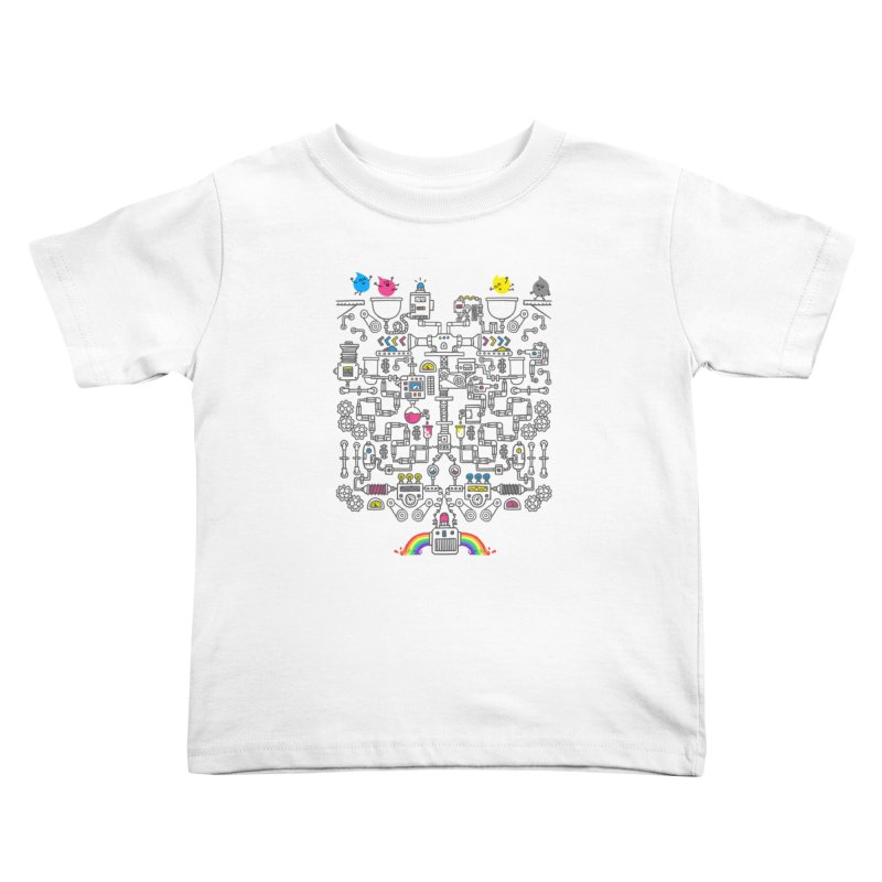 The Amazing Color Machine Kids Toddler T-Shirt by Rodrigobhz