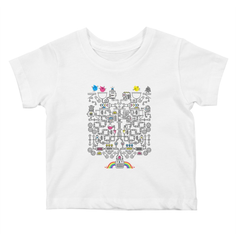 The Amazing Color Machine Kids Baby T-Shirt by Rodrigobhz
