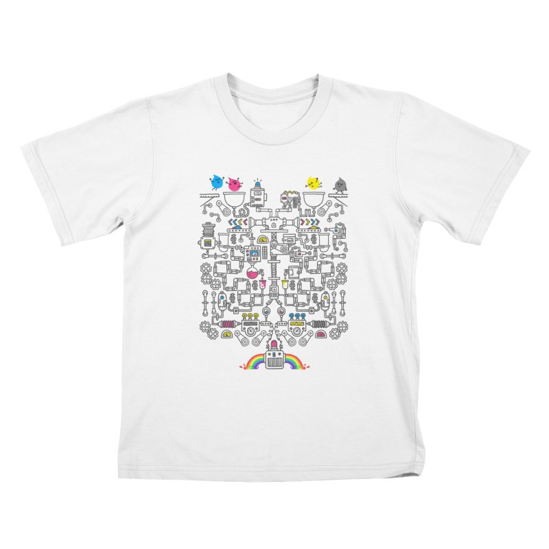 The Amazing Color Machine Kids T-Shirt by Rodrigobhz