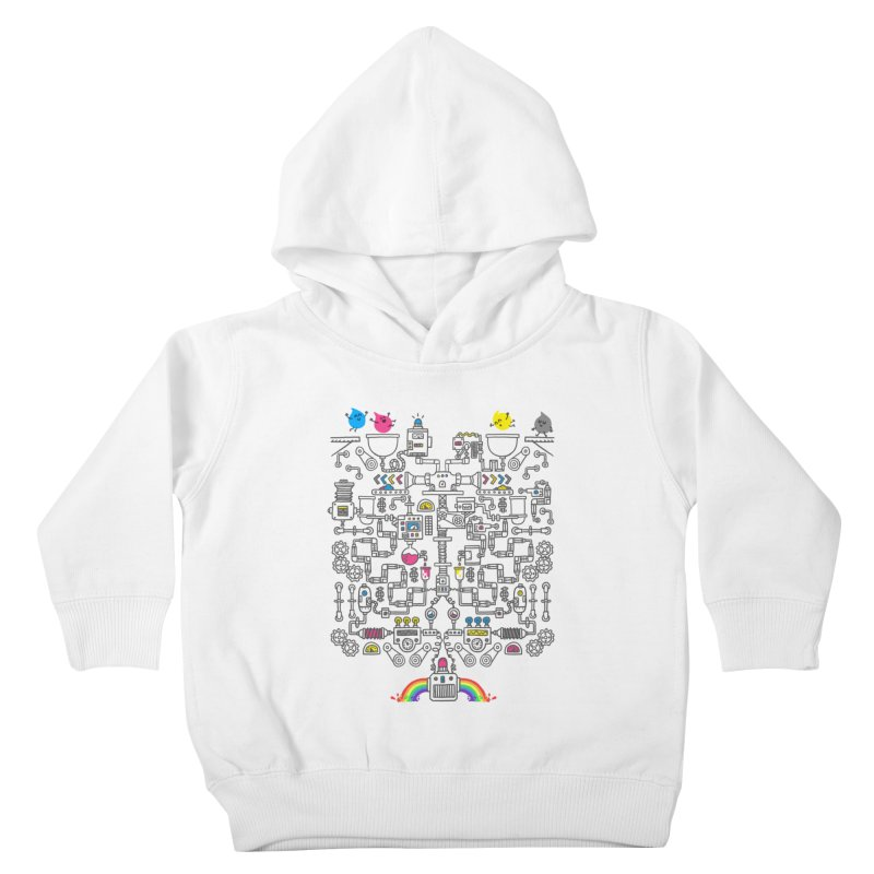 The Amazing Color Machine Kids Toddler Pullover Hoody by Rodrigobhz