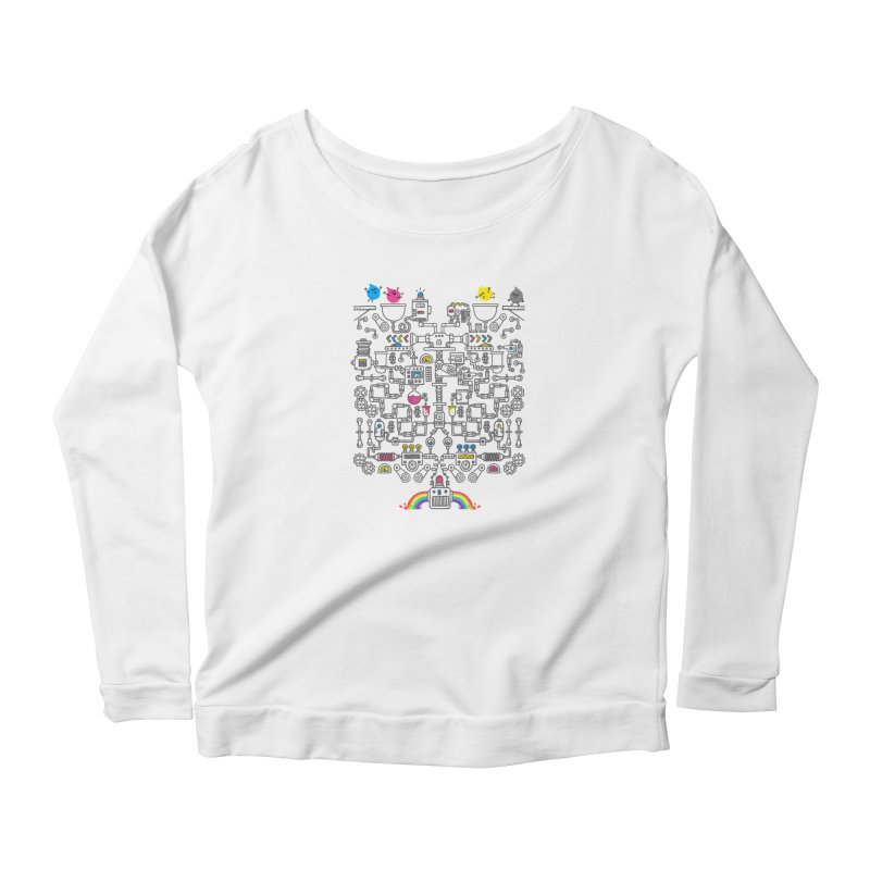 The Amazing Color Machine Women's Longsleeve T-Shirt by Rodrigobhz