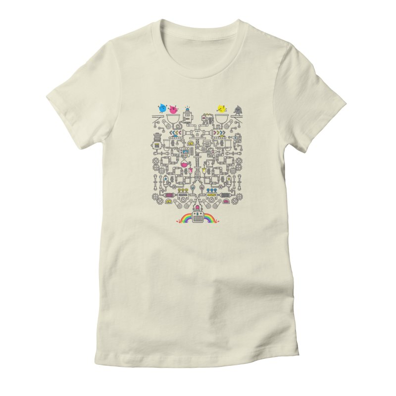The Amazing Color Machine Women's T-Shirt by Rodrigobhz
