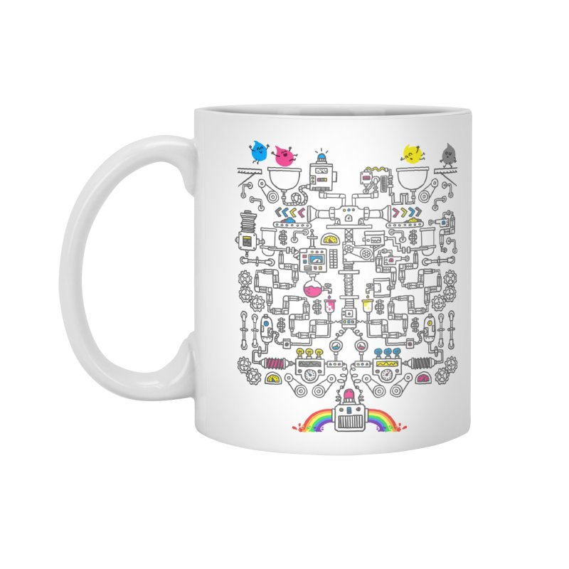 The Amazing Color Machine Accessories Mug by Rodrigobhz